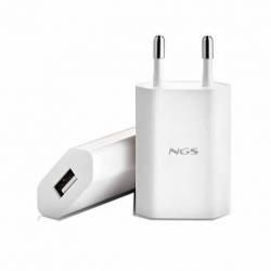 HUB EWENT USB 2.0 3 PUERTOS Y CARGADOR IPAD BLANCO EW1129